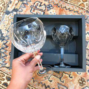 Waterford Crystal Millennium Love Goblet Glass Set